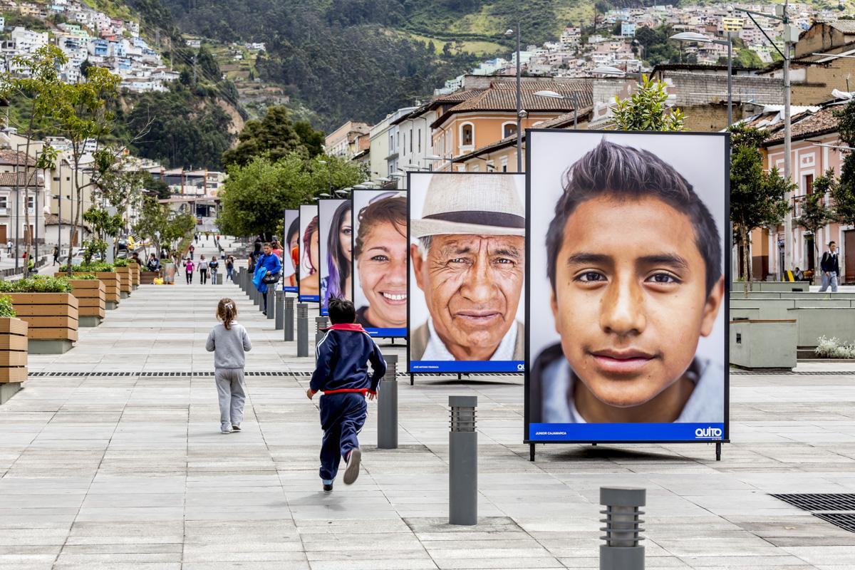 Exposición de Geovany Verdezoto, FLUZ Quito, Secretaría de Cultura de Quito, 2015, Ecuador. Curaduría de Claudi Carreras.