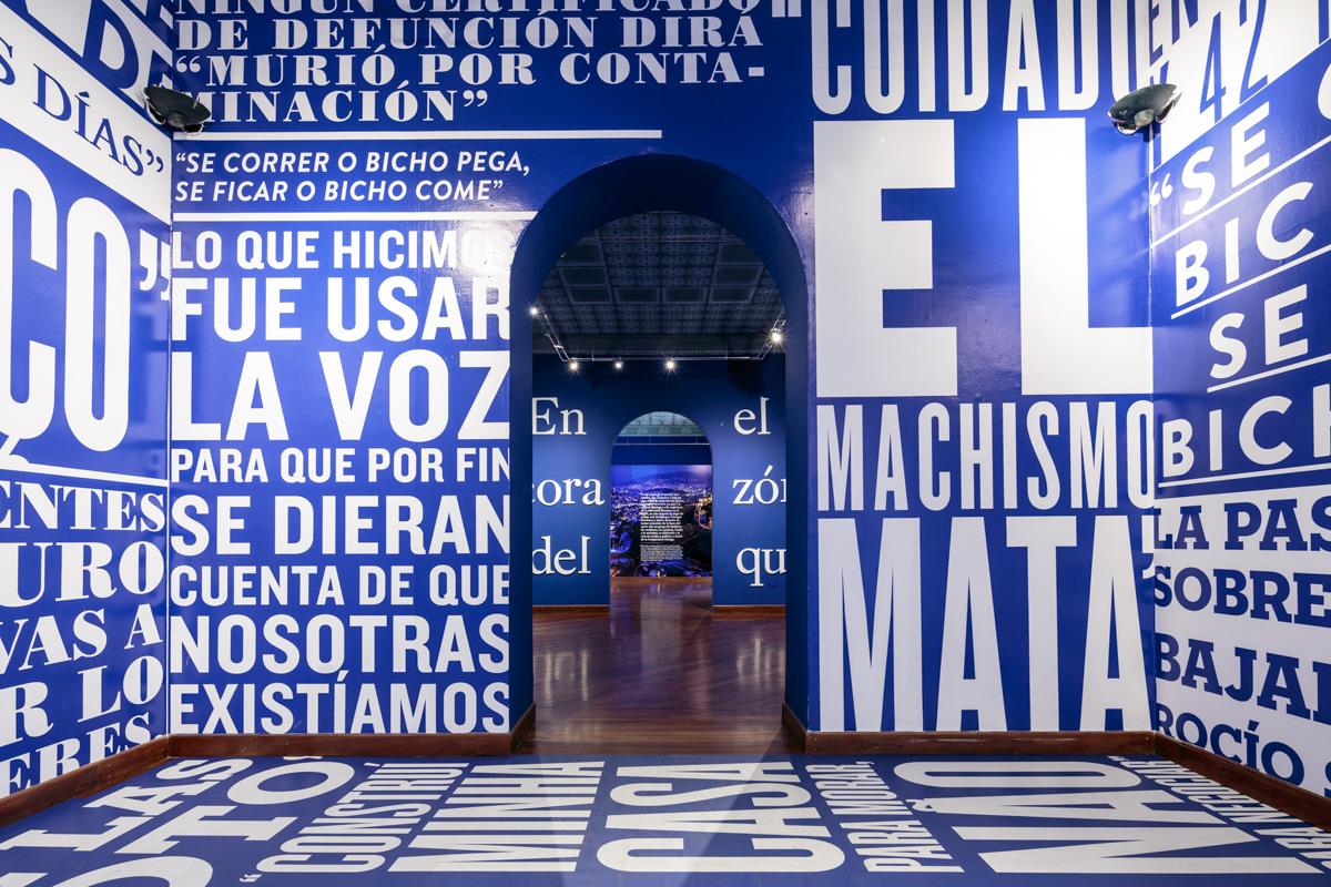Exposición colectiva Ciudades Visibles, Secretaría de Cultura de Quito, 2016, Ecuador. Curaduría de Claudi Carreras.