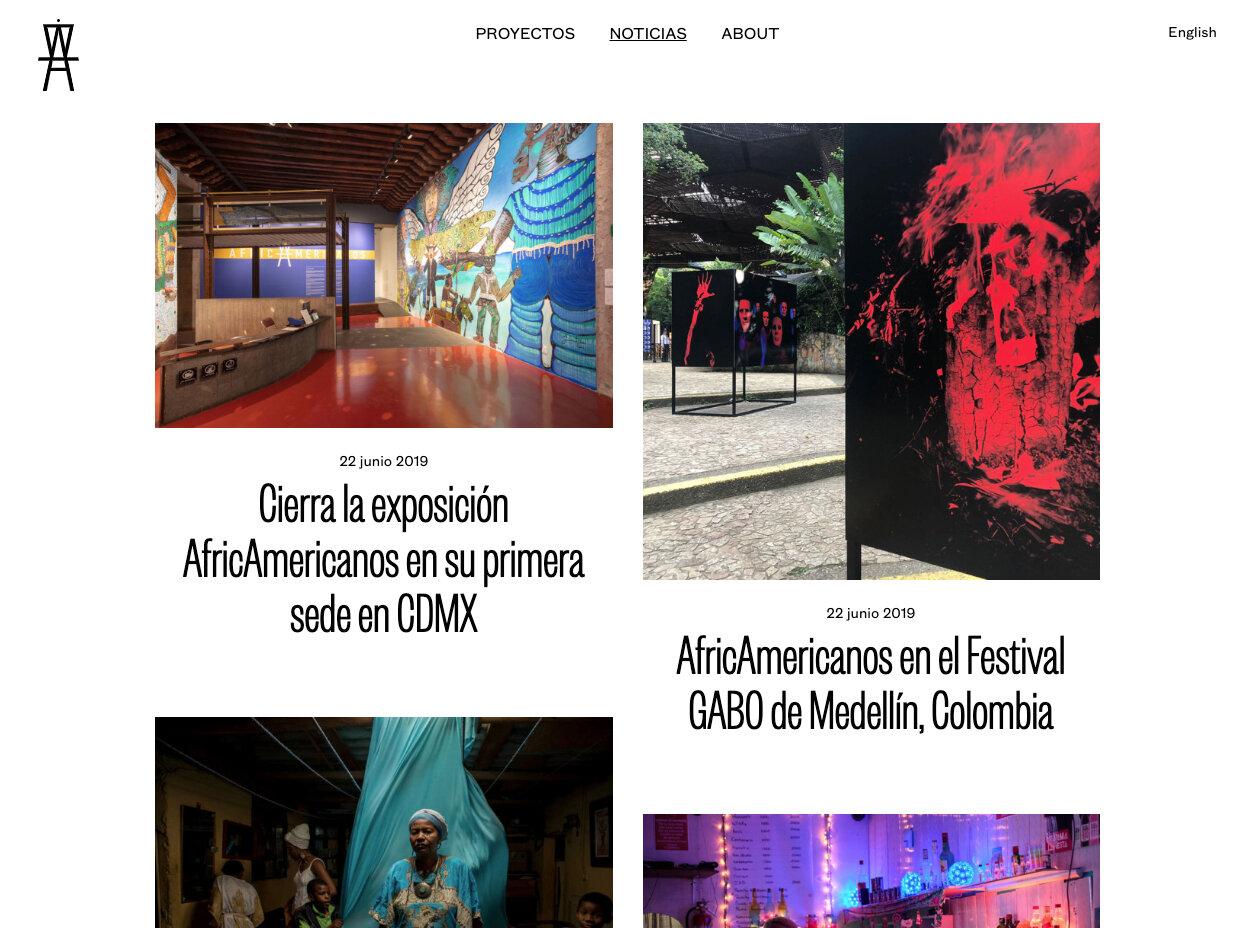 Africamericanos pantalla