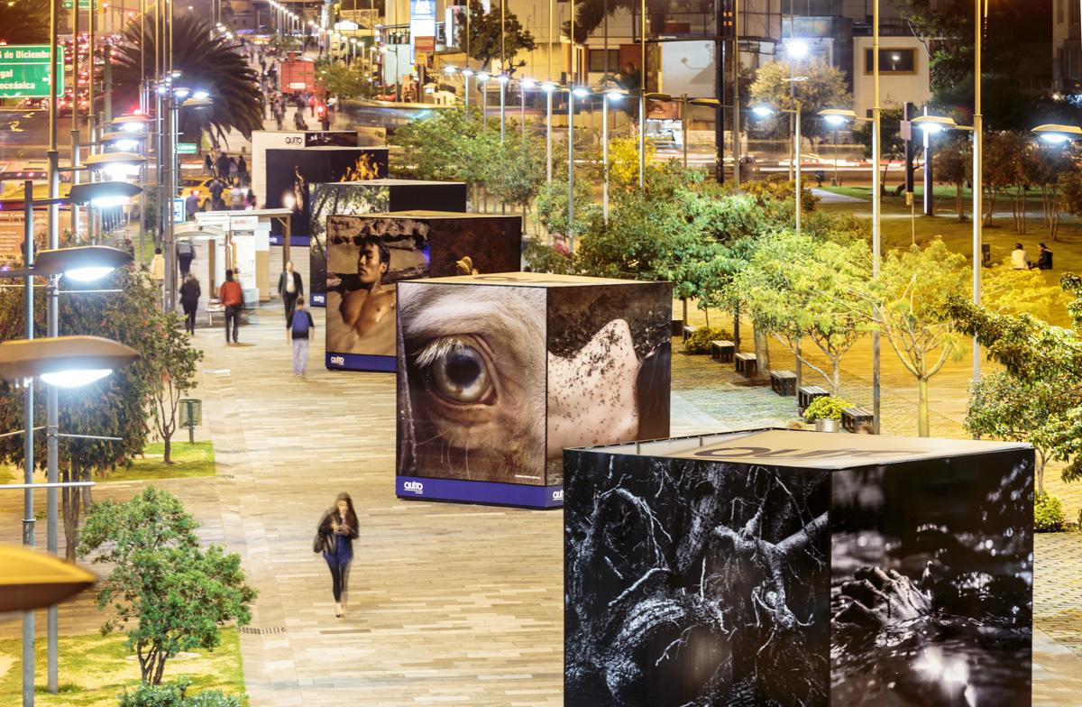 Exposición colectiva Paisajes interiores, FLUZ Quito, Secretaría de Cultura de Quito, 2015, Ecuador. Curaduría de Claudi Carreras.