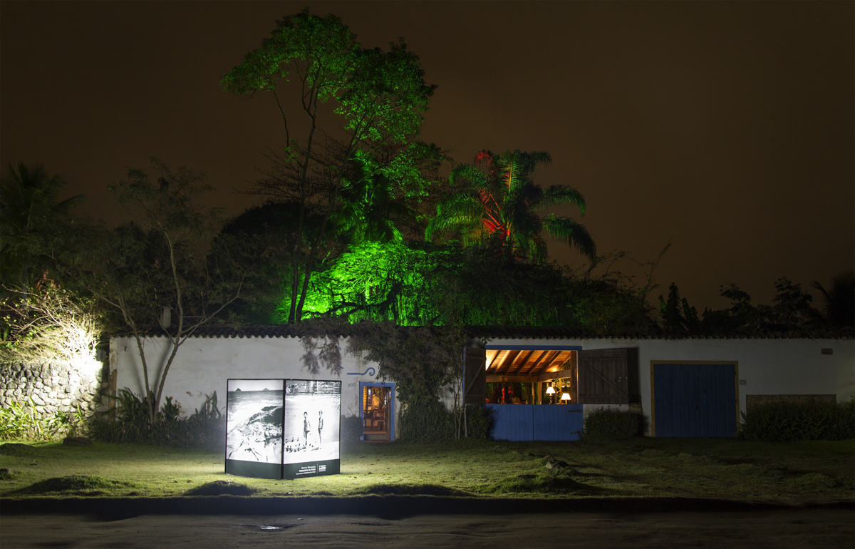 Exposición colectiva en Paraty em Foco 2013, Rio de Janeiro, Brasil. Curaduría de Claudi Carreras. Estudio Madalena.